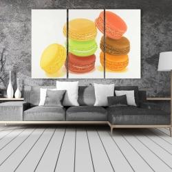 Canvas 40 x 60 - Delicious macaroons