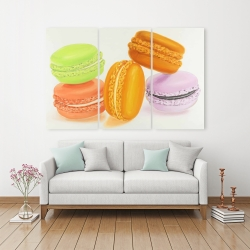 Canvas 40 x 60 - Small bites of macaroons