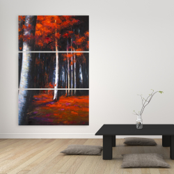 Canvas 40 x 60 - Mysterious forest