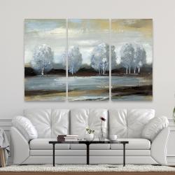 Canvas 40 x 60 - Grey landscape