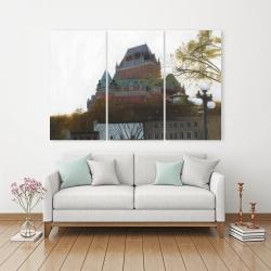 Canvas 40 x 60 - Le château de frontenac in autumn