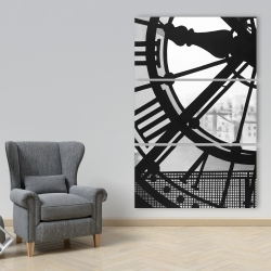 Canvas 40 x 60 - Clock at the orsay museum