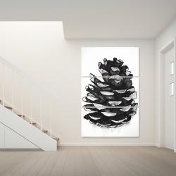 Canvas 40 x 60 - Pine cone