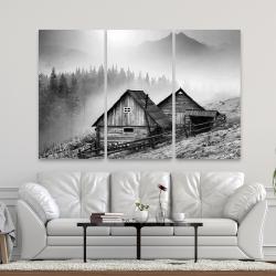Canvas 40 x 60 - Mountain carpathian village