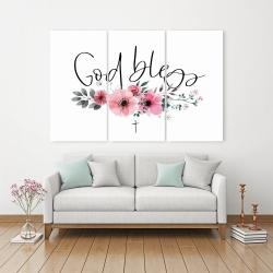 Canvas 40 x 60 - God bless