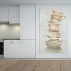 Canvas 40 x 60 - Coffee mugs