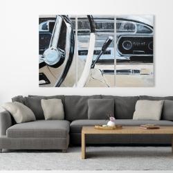 Canvas 40 x 60 - 1950s car dashboard