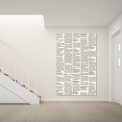 Canvas 40 x 60 - Newspaper