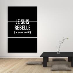 Canvas 40 x 60 - I'm rebellious