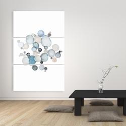 Canvas 40 x 60 - Round pebbles