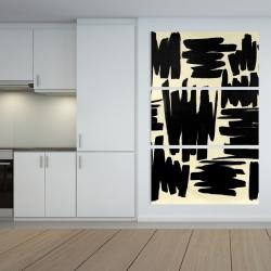 Canvas 40 x 60 - Deconstructed stripes