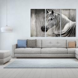 Canvas 40 x 60 - Rustic horse