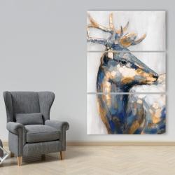 Canvas 40 x 60 - Golden deer