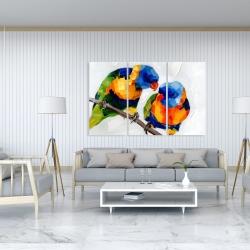Canvas 40 x 60 - Couple of parrots