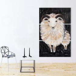 Canvas 40 x 60 - Two bushy ram