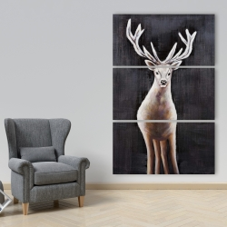 Canvas 40 x 60 - Lonely deer