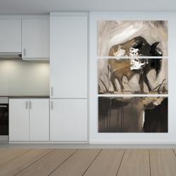 Canvas 40 x 60 - Abstract buffalo