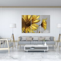 Canvas 40 x 60 - Mountain arnica flowers