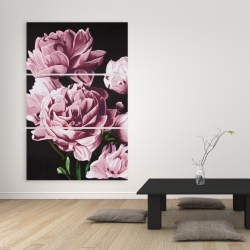 Canvas 40 x 60 - Pink peonies