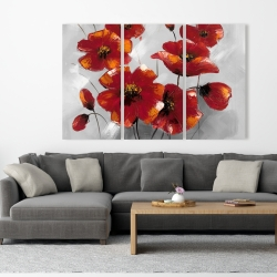 Canvas 40 x 60 - Anemone flowers