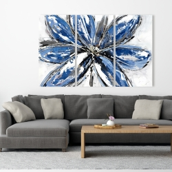 Canvas 40 x 60 - Blue petal