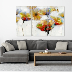 Canvas 40 x 60 - Color spotted flowers