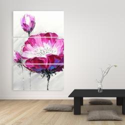 Canvas 40 x 60 - Fuchsia wild flower