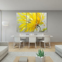 Canvas 40 x 60 - Yellow flower