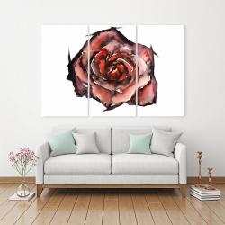 Canvas 40 x 60 - Watercolor rose