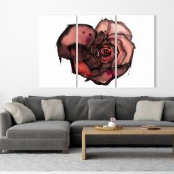Canvas 40 x 60 - Dark rose