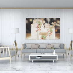 Canvas 40 x 60 - Christmas candles