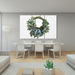 Canvas 40 x 60 - Christmas wreath