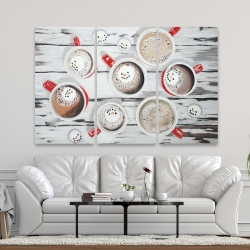 Canvas 40 x 60 - Holiday hot chocolate