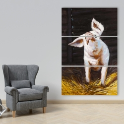 Canvas 40 x 60 - Happy pig