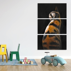 Canvas 40 x 60 - Spotted cat