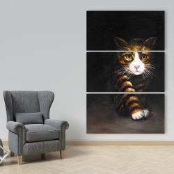 Canvas 40 x 60 - Discreet cat