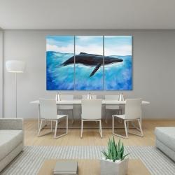 Canvas 40 x 60 - Blue whale