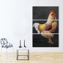 Canvas 40 x 60 - Beautiful rooster 2