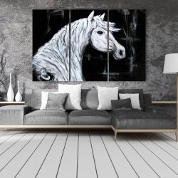 Canvas 40 x 60 - Horse profile view