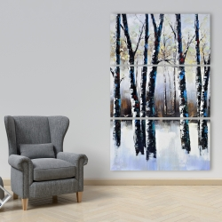 Canvas 40 x 60 - Frosted trees