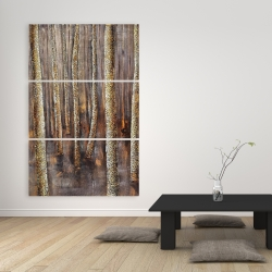 Canvas 40 x 60 - The dark forest