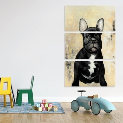 Canvas 40 x 60 - French bulldog