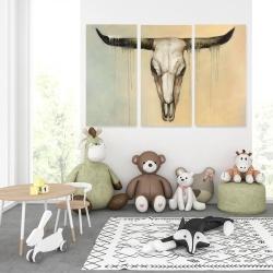 Canvas 40 x 60 - Bull skull