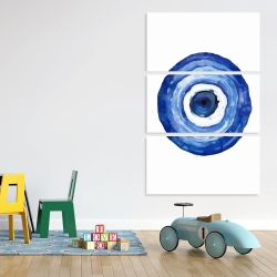 Canvas 40 x 60 - Erbulus blue evil eye