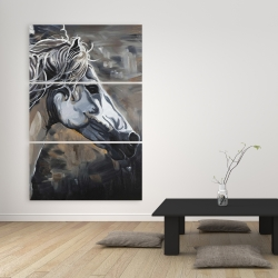 Canvas 40 x 60 - Side of a wild horse