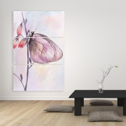 Canvas 40 x 60 - Delicate butterfly