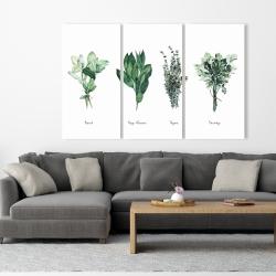 Canvas 40 x 60 - Fine herbs