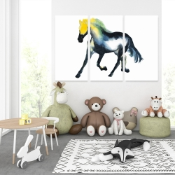 Canvas 40 x 60 - Galloping horse