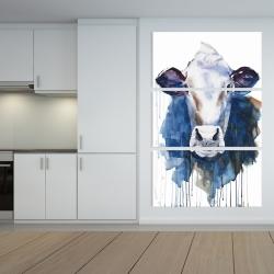 Canvas 40 x 60 - Watercolor cow