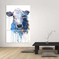 Canvas 40 x 60 - Watercolor jersey cow